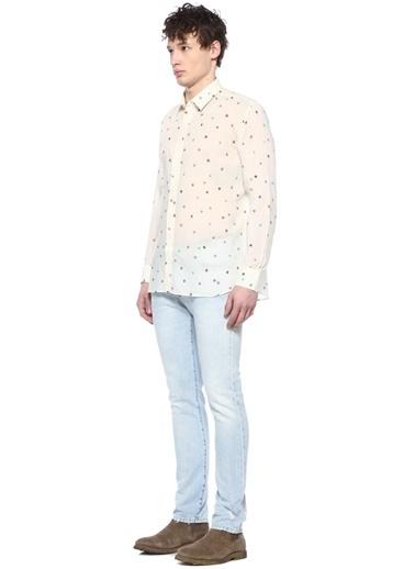 Saint Laurent Gömlek Renkli
